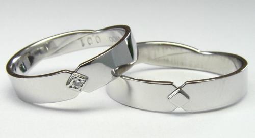 お客様デザインの結婚指輪
